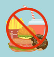 stop fast food eating bad dish hamburger soda