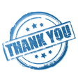 thank you stamp vector image