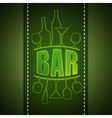 bar list design vector image