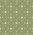 green minimalist geometric seamless pattern with vector image vector image