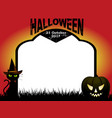 halloween tombstone copy space background vector image vector image