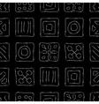 Scratched Symbols vector image vector image