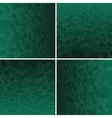 Set Green Honeycomb Background vector image vector image