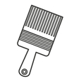 brush paint supply icon vector image