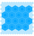 Cube Pattern Tile vector image