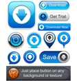 Download high-detailed modern buttons vector | Price: 1 Credit (USD $1)