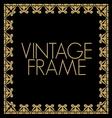 VINTAGE FRAME4 vector image vector image