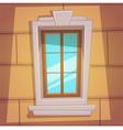 Retro Cartoon Window vector image