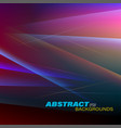 abstract colorful motion vector image vector image