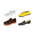 Male man season shoes in flat style men boots