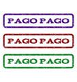 pago pago watermark stamp vector image vector image