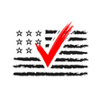 presidential election usa sign vector image vector image