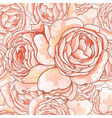roses stylized vector image vector image