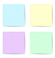 stickers pastel vector image