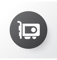 video card icon symbol premium quality isolated vector image