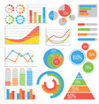 business and statistics vector image vector image