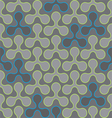 circle Seamless pattern wallpaper vector image vector image