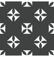 Maltese cross pattern vector image vector image