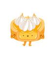merengue tartlet character vector image vector image