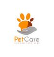 pet care logo icon symbols and app icon vector image vector image