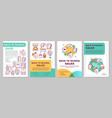 school supplies discounts brochure template vector image