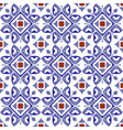 tile pattern ceramic tiled design with colorful vector image vector image