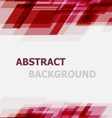 Abstract red geometric overlapping background vector image vector image