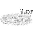 bathroom remodel the plan text word cloud concept