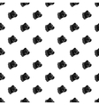 Bulldog dog pattern simple style vector image