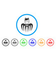 manager spectre devil icon vector image vector image