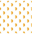 number 3 from honey pattern vector image