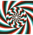 pattern with optical abstract striped background vector image
