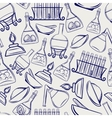 Science lab equipment seamless pattern vector image vector image