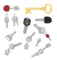 door key access household tool vector image