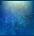 abstract futuristic bokeh background eps 10 vector image
