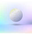 ball letters vector image
