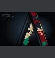 modern dark camo abstract background design 3d