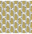 natural honey seamless pattern Bio hand vector image