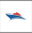sailboat logo sailing logo design icons yacth vector image vector image
