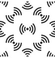 wi-fi network symbol icon seamless pattern on vector image vector image