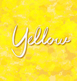 abstract gold background yellow color light corner vector image