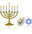 Hanukkah vector | Price: 1 Credit (USD $1)
