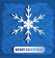 merry christmas congratulatory background vector image vector image