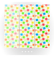 set of bright abstract seamless patterns vector image