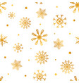 snowflakes seamless pattern christmas wrapping vector image vector image