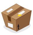 carton package vector image