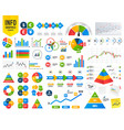 dollar euro pound and yen currency icons vector image vector image