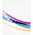 Glossy wave on white space vector image vector image
