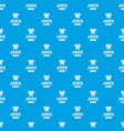 military axe pattern seamless blue vector image vector image