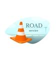 Road Service concept design vector image